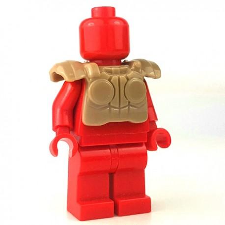 Lego Accessoires Minifigure - Si-Dan Toys - Tactical Vest USF M1a (Beige Foncé)