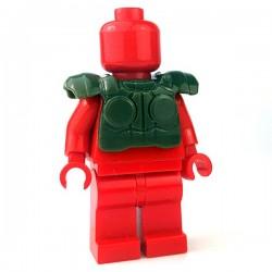 Lego Accessoires Minifigure - Si-Dan Toys - Tactical Vest USF M1a (Vert Militaire)