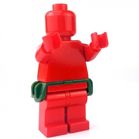 Lego Accessoires Minifigure - Si-Dan Toys - Skirt of Tasses (Vert Militaire)