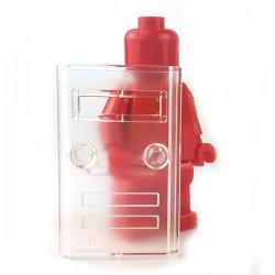 Lego Minifigure Si-Dan Toys - Bouclier Pare-balle N4 (Transparent)