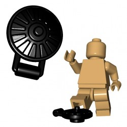 Lego Accessoires Minifigure BrickWarriors - Land Mine (Noir)