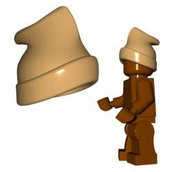 Lego Accessoires Minifigure BrickWarriors - Commando Cap (Beige foncé)