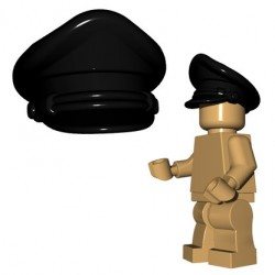 Lego Accessoires Minifigure BrickWarriors - Casquette Crusher (Noir)