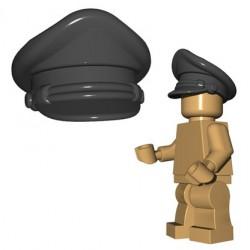 Lego Accessoires Minifigure BrickWarriors - Casquette Crusher (Dark Bluish Gray)