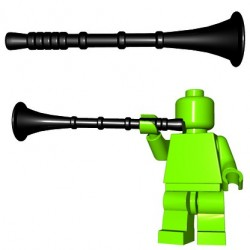 Brick Warriors - Herald Trumpet (Black)
