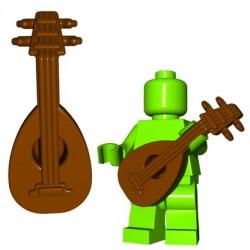 Lego Accessoires Minifigure BrickWarriors - Luthe (Marron)