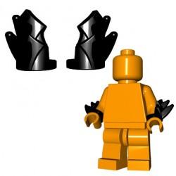 BrickWarriors - Bladed Vambraces (Black - Pair)