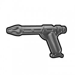 Lego Minifigure Accessoires Star Wars Arealight - Silver Merc Pistol 34