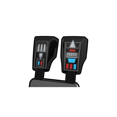 Lego Minifigure Accessoires Star Wars Arealight - Black Wren Vambraces