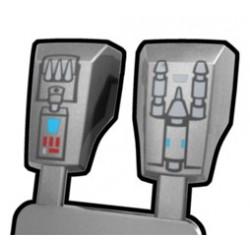 Arealight - Silver Blaster Vambraces