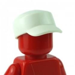 LEGO - Minifig, Headgear Cap, Worker (White)
