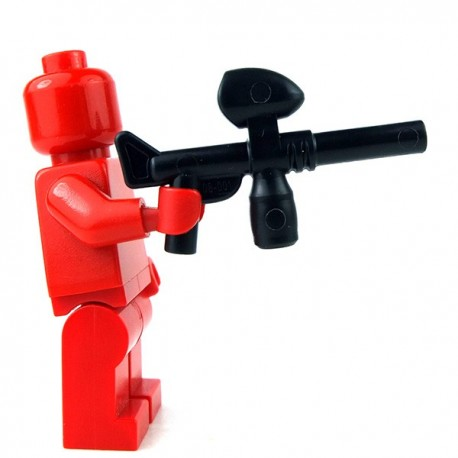 Lego Minifigure - Pistolet de Paintball (Noir)
