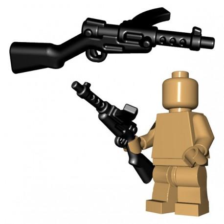 Lego Accessoires Minifigure BrickWarriors - Japanese SMG (Noir)