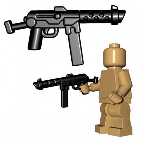 Lego Accessoires Minifigure BrickWarriors - Italian SMG (Noir)