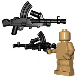 BrickWarriors - British LMG (Black)