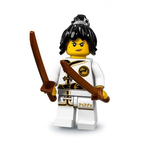 LEGO Minifig Ninjago le film - Spinjitzu Training Nya