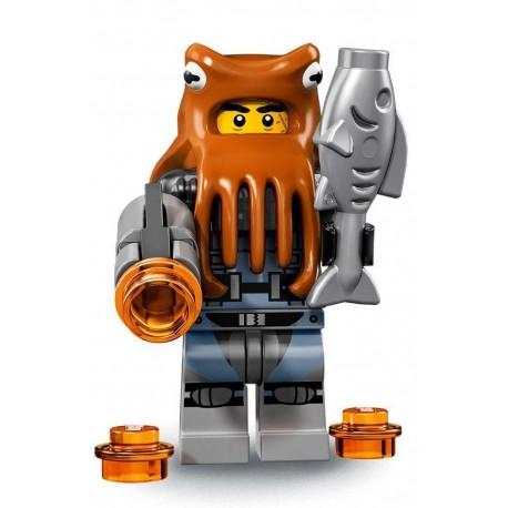 LEGO Minifig Ninjago le film - Bandit pieuvre de l'armée des requins