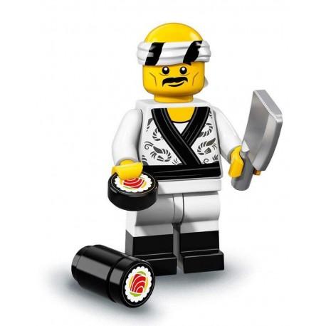 LEGO Minifig Ninjago le film - Chef Sushi