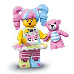LEGO Minifig Ninajo Movie - N-POP Girl