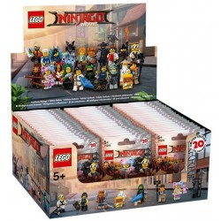 LEGO Series NINJAGO Movie - box of 60 minifigures - 71019