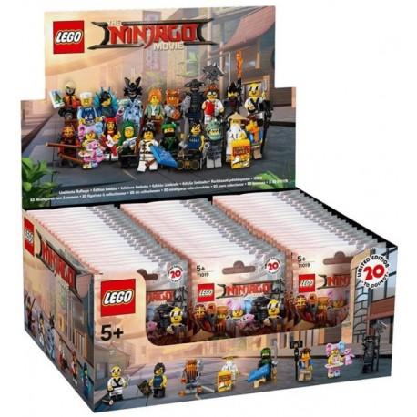 LEGO 71019 - Boite complète de 60 sachets - Série NINJAGO Movie