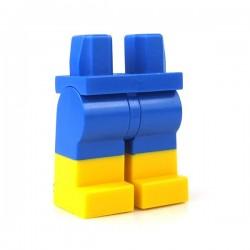 Lego - Accessoires Minifigure - Jambes Short Bleu