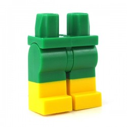 Lego - Green Hips & Legs with Yellow Boots