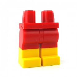 Lego - Red Hips & Legs with Yellow Boots
