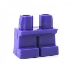 Lego - Accessoires Minifigure - Jambes courtes (Dark Purple)