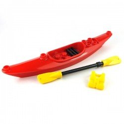Lego Minifigure Mini Set - Kayak Paddle et Gilet