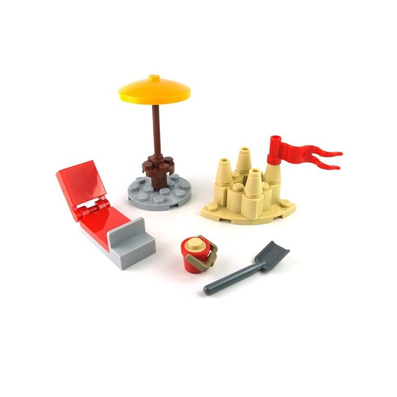 Lego 25 New Reddish Brown Castle Torsos with Armor NO ARMS Pieces