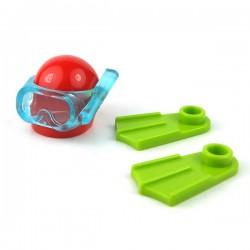 Lego Minifigure Mini Set - Equipement de plongée