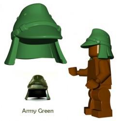 Brick Warriors - Japanese Hat (Army Green)