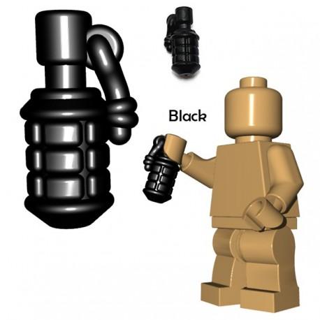 Lego Accessoires Minifigure BrickWarriors - Grenade Japonaise (Noir)