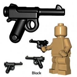 Lego Accessoires Minifigure BrickWarriors - Pistolet japonais (Noir)