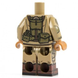 Lego Minifig Co. - Torse + Jambes - Airborne M1 101st