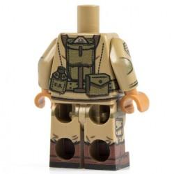 Minifig Co. - Airborne M1 101st Torso + Legs