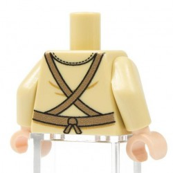 Lego Minifig Co. - Torse NVA Infantry (Beige)