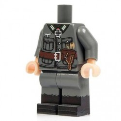 Minifig Co.- Torso + Legs German Officer