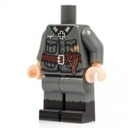 Minifig Co.- Torso + Legs German Officer
