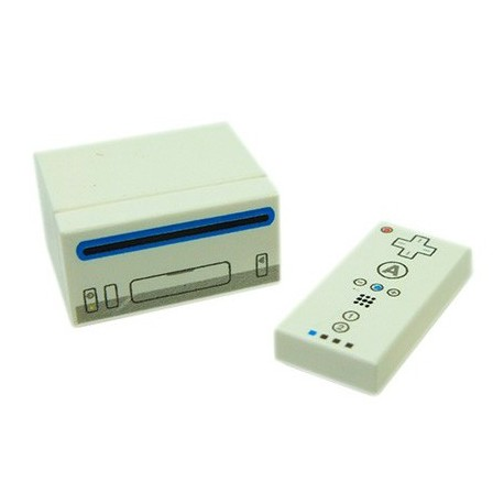 Lego Accessoires Custom Bricks - Console Wii + 1 manettes