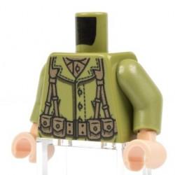 Lego Minifig Co. - Torse US M1 (Olive)