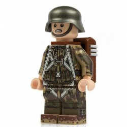 Lego Minifig Co. - Minifigure German Splinter Luftwaffe