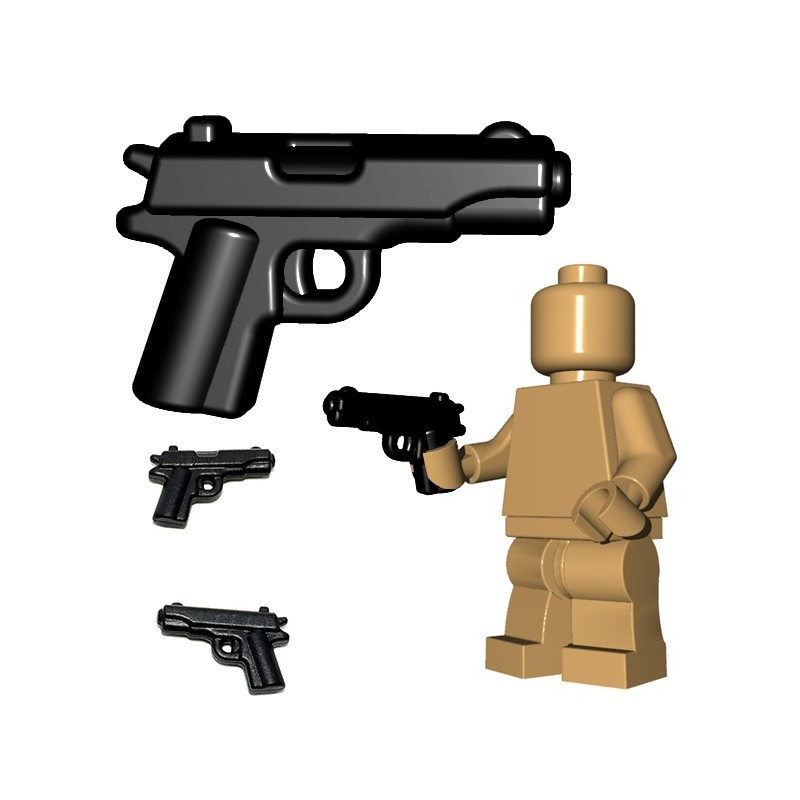 5X Pistols /& Hand Guns For Mini-figures Compatible With Lego