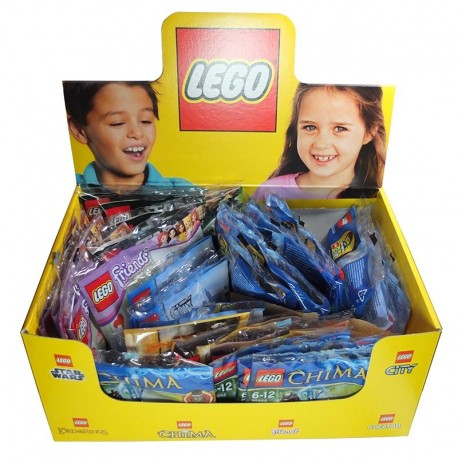Lego Boite de 30 polybags (Impulse) La Petite Brique (Chima, Friends, City, Creator, Star Wars, LOTR)