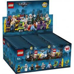 LEGO 71020- Boite complète de 60 sachets - Série 2 BATMAN Le Film