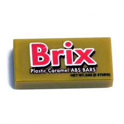 Lego eclipseGRAFX - Bonbons Brix Bar (Tile 1x2)