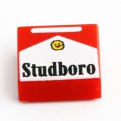 Lego eclipseGRAFX - Cigarettes Studboro (Tile 1x1)