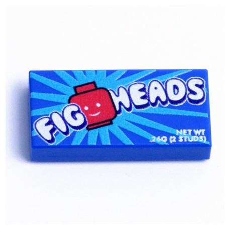 Lego eclipseGRAFX - Bonbons Fig Heads Candy (Tile 1x2)