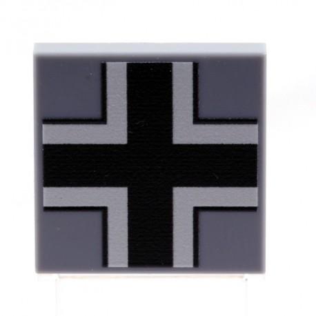 Lego eclipseGRAFX - Croix Allemande (Tile 2x2 - LBG)